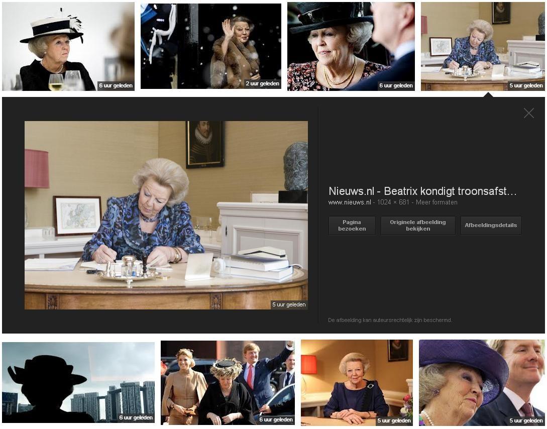 nieuwe resultaten Google images