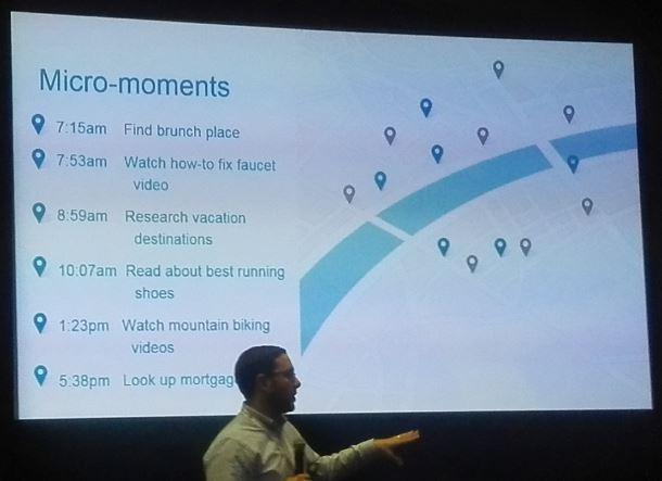 Micro-moments voorbeelden